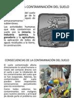 DIAPO CAUSAS DE LA CONTAMINACIÓN DEL SUELO