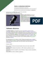 Aislantes y conductores eléctricos
