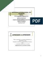 [PD] Documentos - Aprendiendo a Aprender