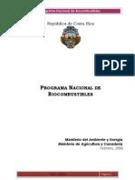 Programa Nacional de Biocombustibles