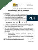 Examen de Contrato Piura Ebr_secundaria 2013