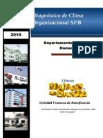 Diagnóstico de Clima Organizacional 2010