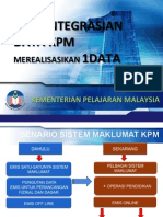 pengintegrasian data kpm 21 jan 2013