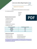 Gestión de Transporte-Castañeda León,Edwin