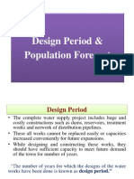 Design Periods & Population Forecast
