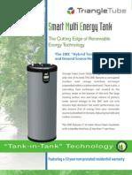 Triangle Tube SME Hybrid Solar/Geothermal DHW Storage Tanks Brochure