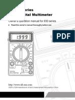 Digital Multimeter DT830 Series Manual