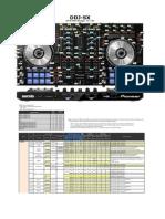 DDJ-SX List of MIDI Messages E