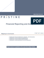 CFA 1 Financial Reporting & Accounting