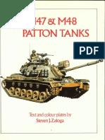 Osprey - Vanguard 029] - M47 & M48 Patton Tanks