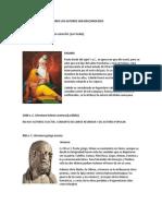 Biografías de autores