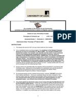 Principles of Criminal Law Essay 1 LAW 1140