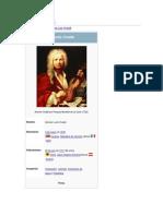 Biografia de Antonio Vivaldi