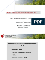 World Vitiviniculture Situation in 2012