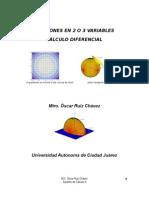 Funciones en 2 y 3 Variables
