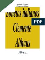 Sonetos Italianos (Althaus)