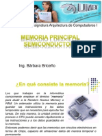 Memoria Principal Semiconductora