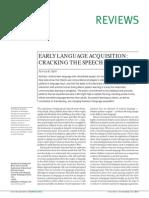 Early Language Kuhl
