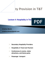 Lecture 4-Hospitality in T T