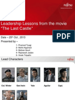 Leadership Lesssons From the Movie - The Last Castle