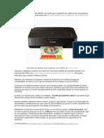 Las Impresoras Canon PIXMA MP230