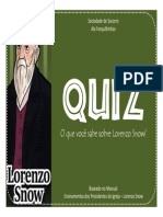 Lorenzo Snow - Quiz