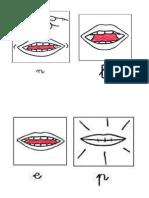 bocas fonemas