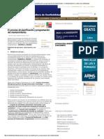 Artículos _ El proceso de planificación y programación del mantenimiento. _ Confiabilidad
