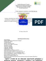 Proyecto Educativo Integral Comunitario (2010-2011)