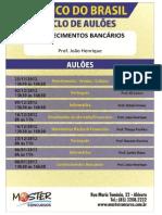 Exercícios - Conhecimentos Bancários - João Henrique