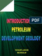 Petroleum Development Geology 010_introduction