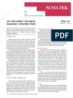 TEK 3-1C All Weather Concrete Masonry Construction _ 2002