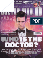 Doctor Who Magazine 460