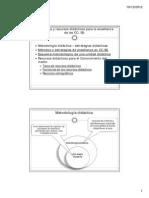 Tema 4. Estrategias y Recursos Didacticos Para La Ensenanza De