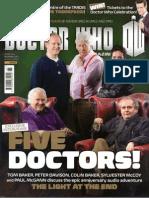 Doctor Who Magazine 465