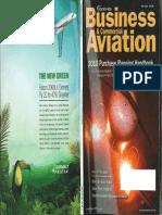 Avionic Data for Business Jets