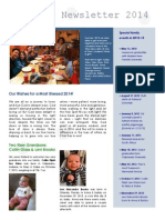 Epiphany Newsletter 2014