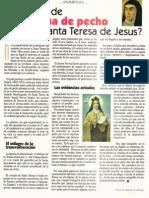 ¿Sufría de angina de pecho Santa Teresa de Jesús?