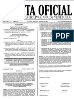 Gaceta Oficial Extraordinaria 6122