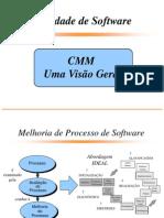 CMM - Qualidade de Software - Uma Visão Geral