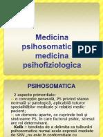 Medicina psihosomatica – medicina psihofiziologica