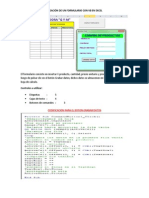 Separata 28 y 29 Semana - Creacion de Formularios en Excel