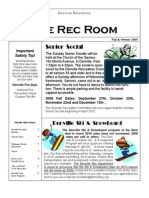 Recreation Brochure Fall 2009