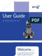 BT Freelance XD510 User Guide