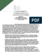 2014 AirShow Volunteer Hold Harmless Agreement 091913