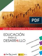 Educación para el Desarrollo. Guía de formadores y formadoras