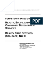 CBC-Beauty Care Services (Nail Care) NC III