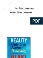 Effective Person