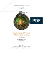 Transforming Thinking - A study course in Rudolf Steiner's Intuitive Thinking as a Spiritual Path