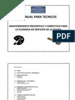Manual Para Tecnicos (Plomeria)